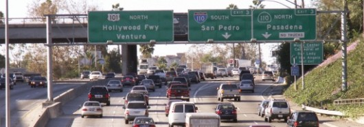 Los Angeles Traffic Gridlock